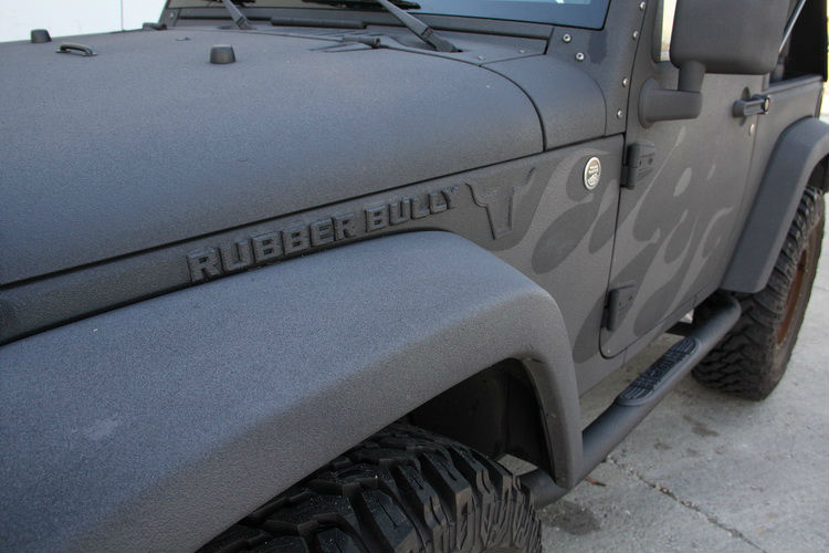 jeep with bullyliner
